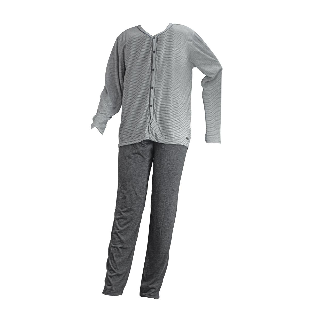 Pijama Masculino Longo Aberto Mann