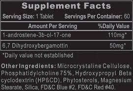 1-Testosterone - Hi Tech ( 60 Comprimidos ) - Testosterona
