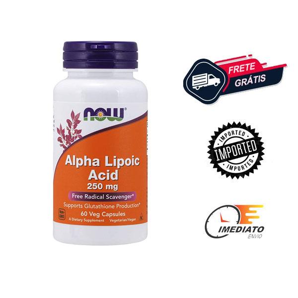 Ácido Alfa Lipóico - Now Foods (250mg - 60 capsulas)