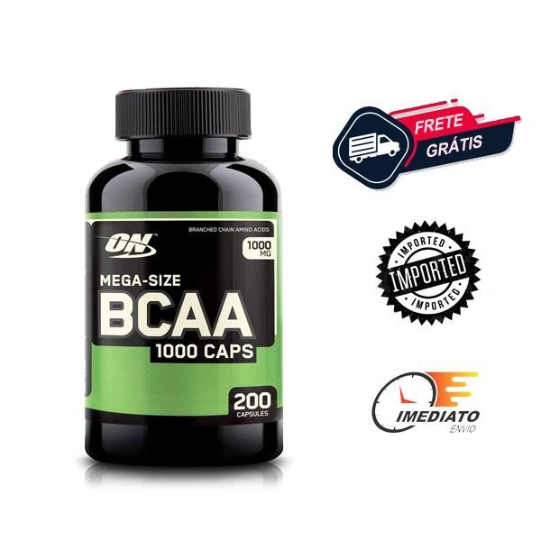 BCAA 1000 - Optimum Nutrition (200 Cápsulas - 1000mg)