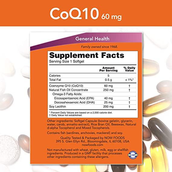 Coenzima Q10 - Now Foods (100 mg/150 softgel)