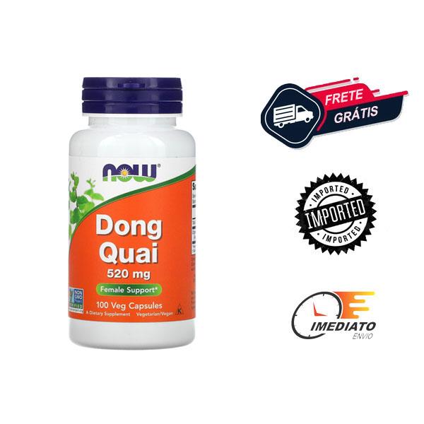 Dong Quai - Now Foods (520mg - 100cáps)