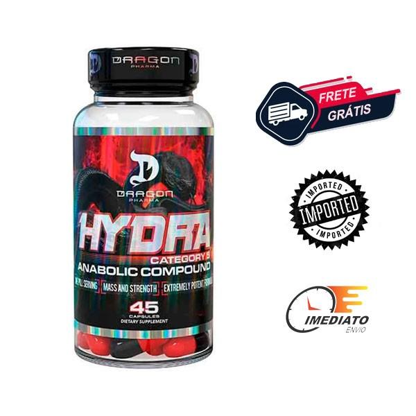 Hydra - Dragon Pharma ( 45 Cápsulas )