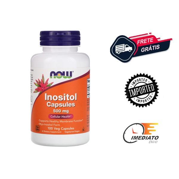 Inositol - Now Foods (500 mg - 100 Cápsulas)