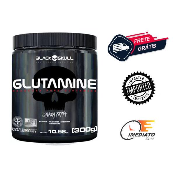 L-Glutamina - Black Skull (300gr)