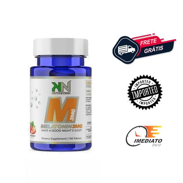 Melatonina 3 mg - KN Nutrition (100 comprimidos)