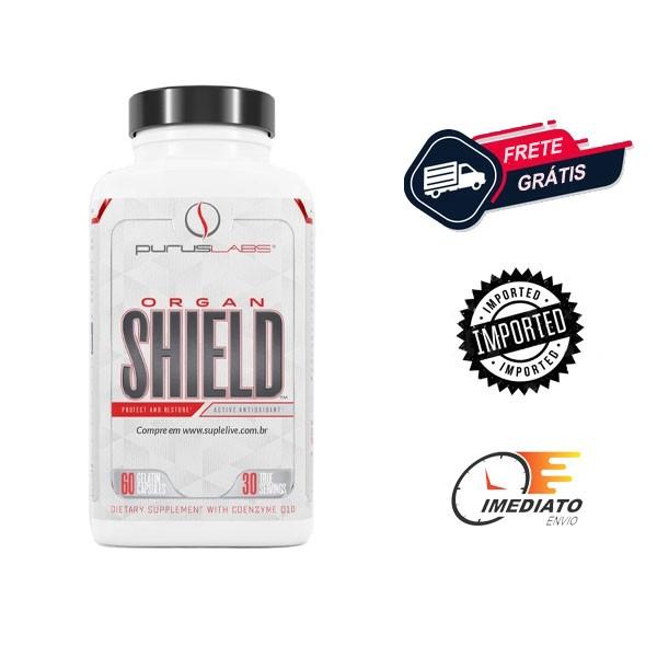 Organ Shield - Purus Labs (60 Cápsulas)   Protetor Hepático e Sistema Imunológico