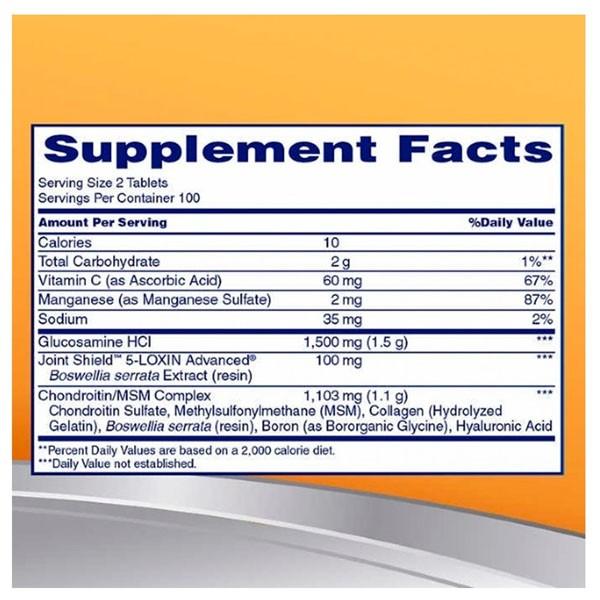 Osteo Bi Flex - Glucosamina , Condroitina e MSM (170 Tablets - Importado)