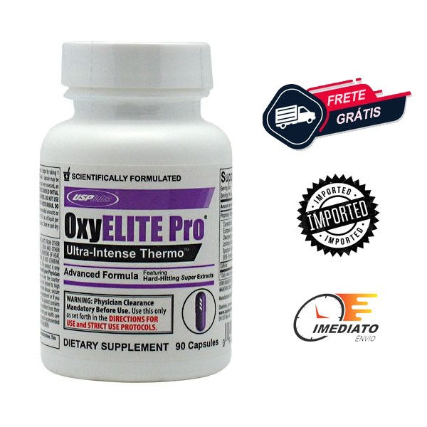 OxyElite Pro - USP Labs (90 Cápsulas - Importado)