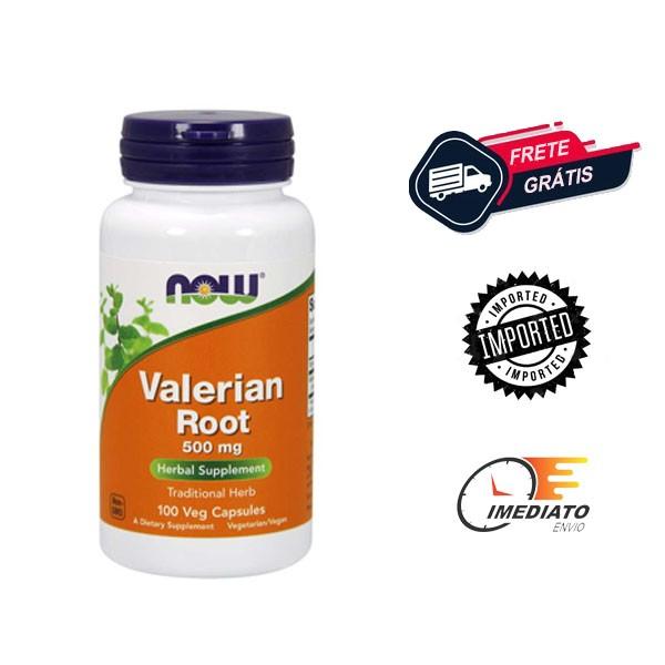 Raiz de Valeriana - Now Foods (500 mg - 100 Cápsulas)