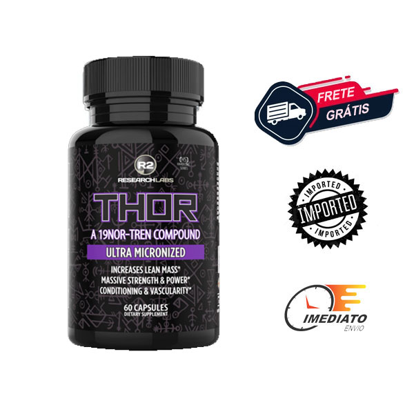 Thor - R2 Research Labs ( 60 Cápsulas )