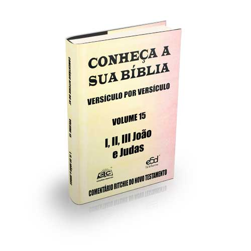 Comentário Ritchie volume 15: I, II e III João e Judas