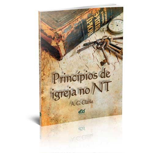 """Pacote com 10 exemplares de """"Princípios de igreja no NT"""""""