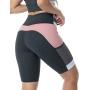 Bermuda Fitness Essence Mescla com Rosa