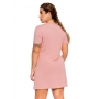 Vestido Moletinho Comfy Rosa