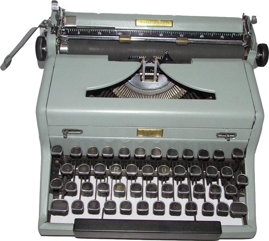 Maquina De Escrever Antiga Royal Quiet De Luxe(Reformada)