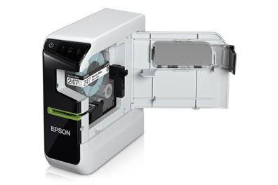 Rotuladora Epson LW-600P Fitas de 6 a 24mm, Conexão USB ou Bluetooth, Interface IOS ou Android, Windows ou Macintosh, Impressão em lote