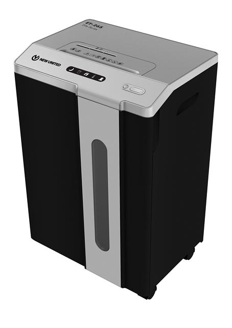Fragmentadora de Papel Procalc New United ET26S 110V - Corta até 26 folhas 75g CD/DVD Cartão Grampos Clipes