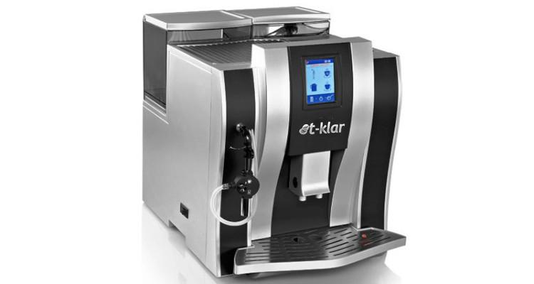 Máquina de Café Expresso T-Klar Me711 127v Outlet Automática Moedor e Painel Touch Screen
