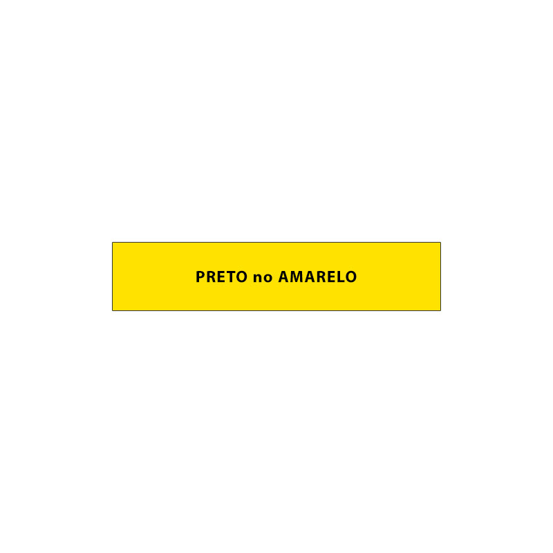 Fita Rotuladora Casio Xr-9Yw1 9mm Preto no Amarelo para Etiquetadora Kl