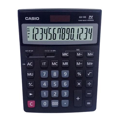 Calculadora de mesa Casio GX-14S-W-DC 14 Dígitos