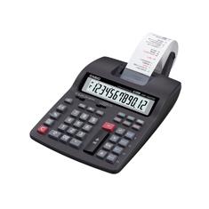 Calculadora Casio PRINTER HR-150TM-BK-AA4-DH com bobina 12 dígitos, 2.4 com fonte