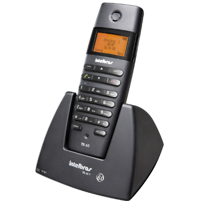 Telefone sem Fio Intelbras TS60V Pt
