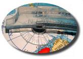 Globo Terrestre Físico Libreria c/ 30cm de diametro, base de plástico, com a fauna animal típica de cada região 220V - Iluminado AMBIENTAL