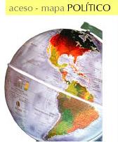 Globo Terrestre Físico e Político Libreria 30cm 220v Base Plástico Iluminado Mondo