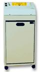 Fragmentadora de Papel Menno FP 97T 220v Corta 10 folhas em Tiras de 3,9mm, Fenda 255mm, Cesto 42 Litros, uso contínuo, Nível de Segurança 02