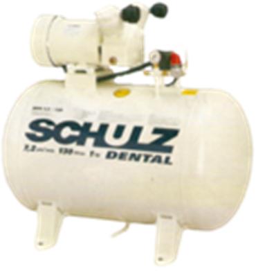 Compressor de ar Schulz MSV 7,2/130 1hp Dental Usado