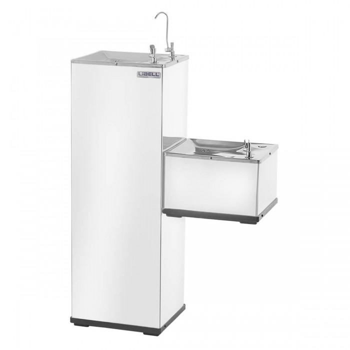 Purificador de Água Libell Press Side Coluna Conjugado Branco 3 220v