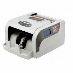 Contadora de Cédulas Menno 860T 220V Conta 1200 notas ou ticket por minuto detecção cédulas falsas UV e MG Visor LCD 2 linhas