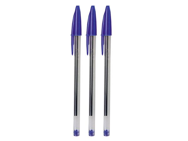 Caneta Esferográfica Bic Cristal 1.0mm Azul Cx. 50 Unid