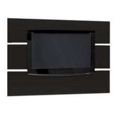 Painel Multivisão Móbile, Preto para TV LCD/Plasma/LED de até 46´ (Acompanha Suporte para fixação da TV no Painel)