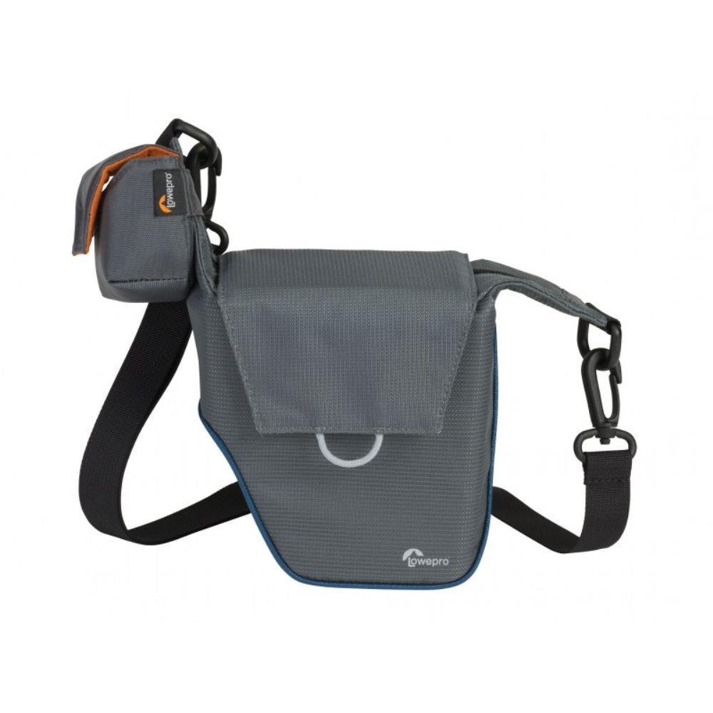 Bolsa Lowepro Compact Courier 70 paraCâmera Compacta e Acessórios Cinza