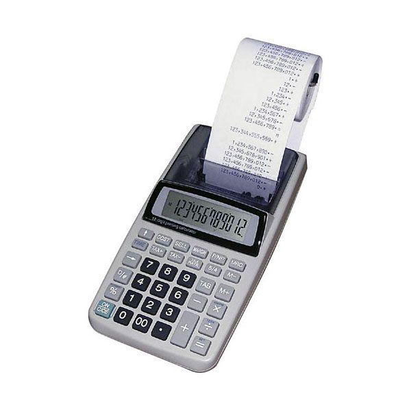 dp-Calculadora com bobina Procalc Lp19AP Adaptador Bivolt Incluso ou 4 Pilhas AA 12 Dígitos