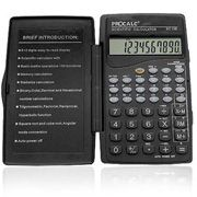 Calculadora Científica Procalc Sc128 com 56 Funç 10 Díg Capa Dobrável 2 Baterias G10