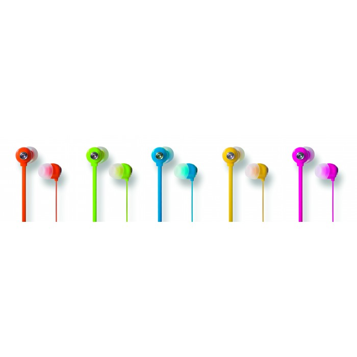 Fone de Ouvido In-Ear Youts - Candy Colors Rosa