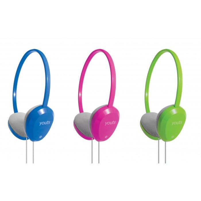 Headset Youts Slim Azul