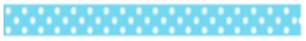 (FORA DE LINHA) Fita Decorativa Deco Rush Dots Plus Japan 6mm