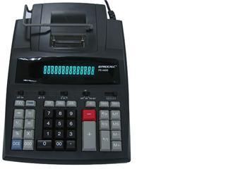 Calculadora Procalc PR 4400 14 dígitos, visor fluorescente, impressora 4,1 linhas por segundo, fita de nylon bicolor, bivolt automático