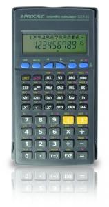 Calculadora Científica Procalc Sc125 228 Funções 10 Tampa Deslizante 2xg13