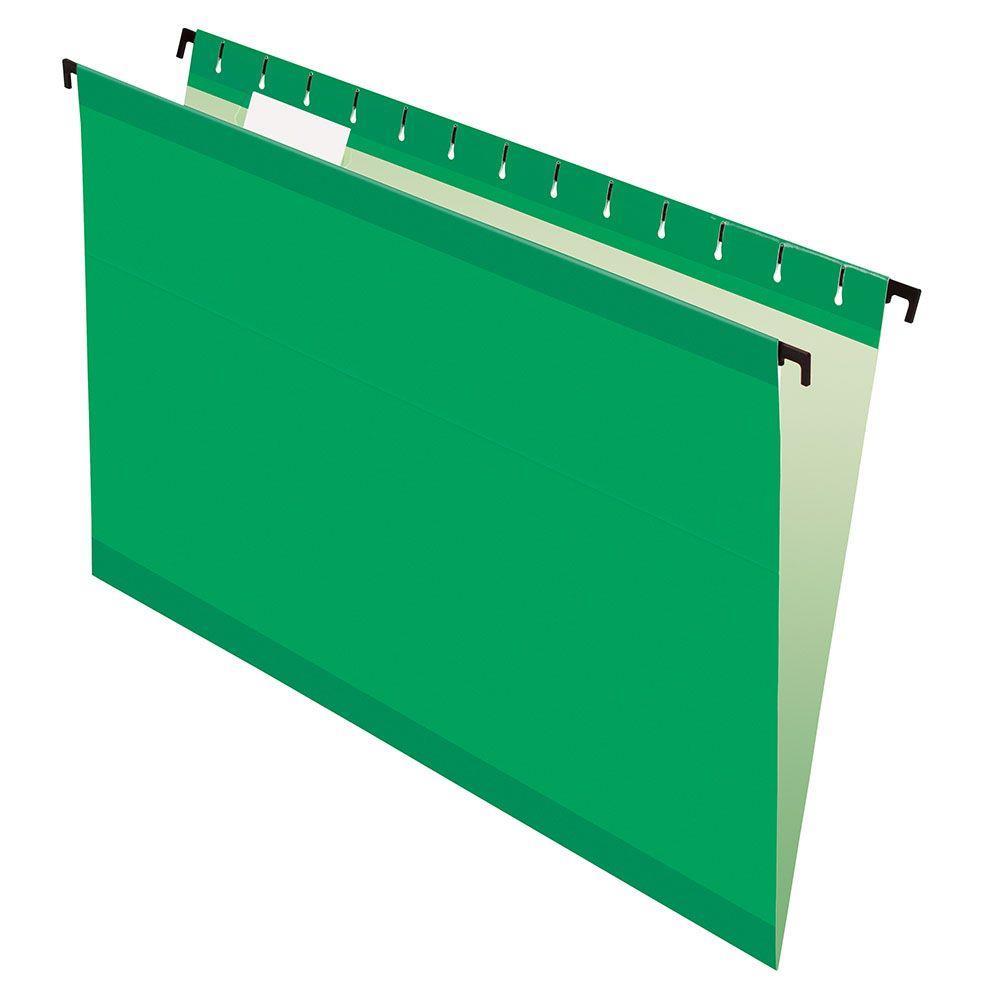 Pasta Suspensa Pendaflex Surehook Verde H.Metal 20 Unid 6153-Bgr com Extensor