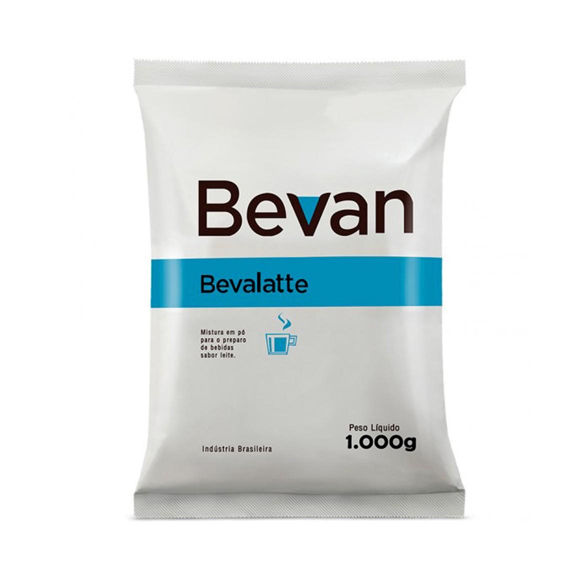 Leite em Pó Solúvel Integral Bevan Bevalatte 1,050Kg