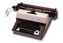 Máquina de Escrever Manual Facit 1742 (Semi Nova)