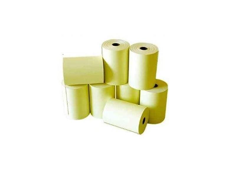 Bobina Termica Menno 57x30Mts Amarela Cx.30 Unid