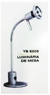 Luminaria Ys-6205 Prata 127v