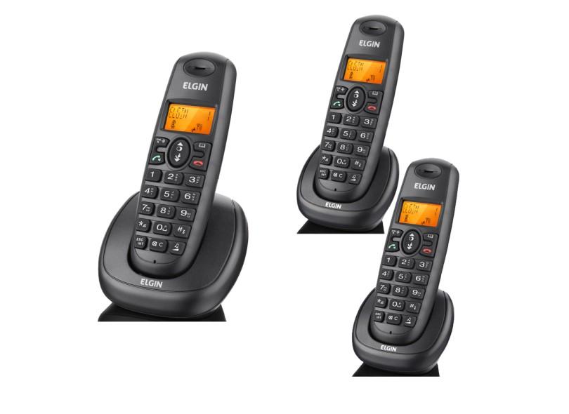 Telefone sem fio Elgin TSF 7003 com 2 ramais