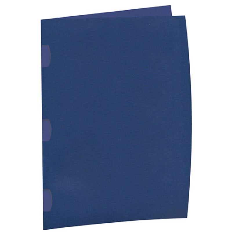 Pasta Contrato Dellomax Azul com 10 Unidades